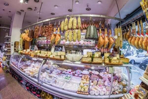 banco Norcineria salumi e formaggi